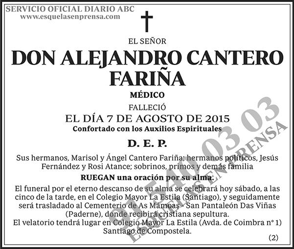 Alejandro Cantero Fariña